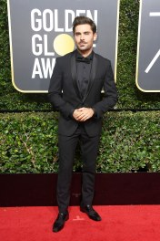 Zac Efron, Golden Globes 2018